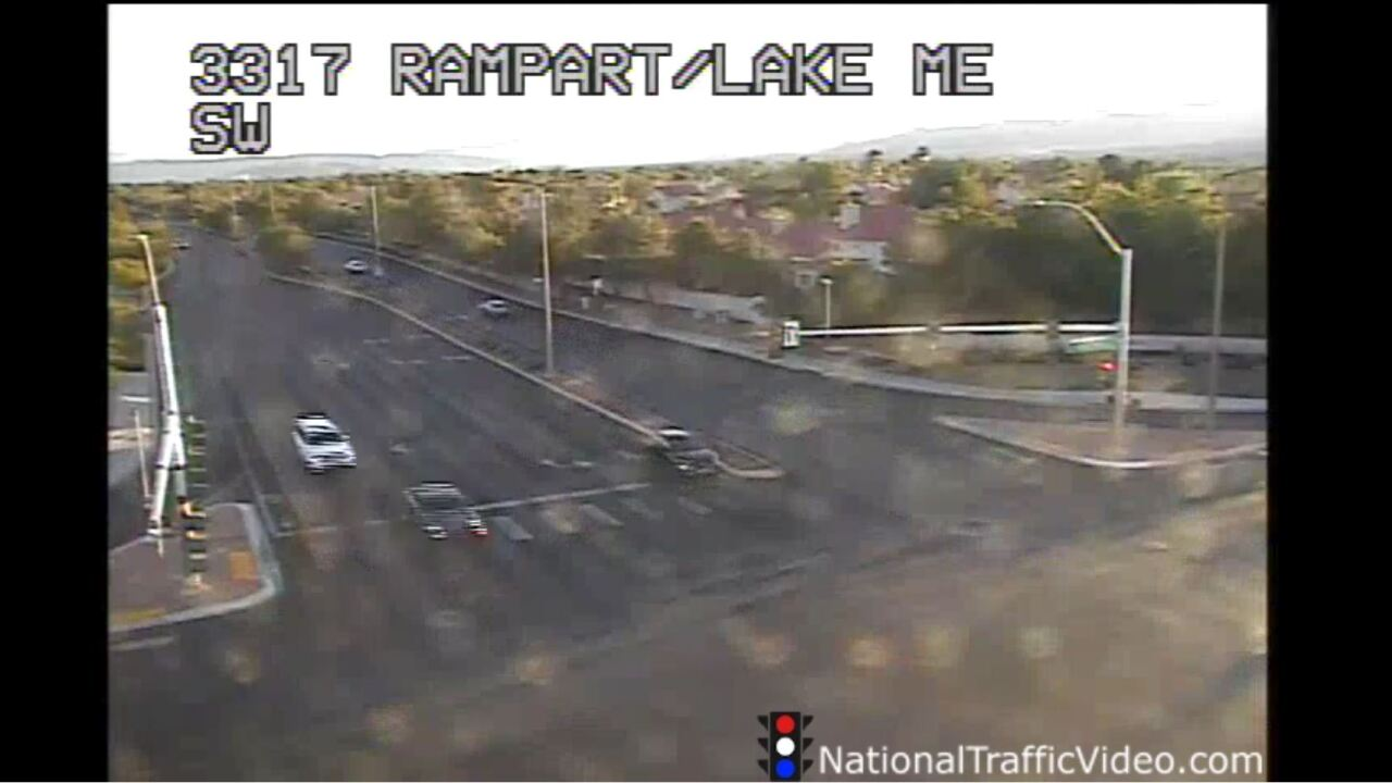 These are screen shots from a variety of traffic cameras from the Nevada Department of Transportation network