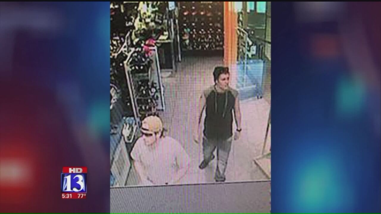 Grieving Utah mother pleads for return of stolen keepsakes; suspects caught on camera