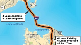 Hampton Roads Bridge-Tunnel Expansion Project receives green light to begin building
