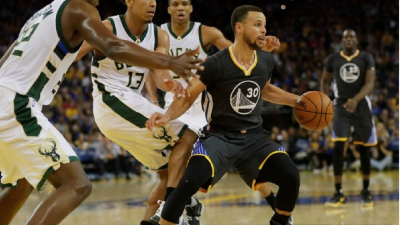 Steph Curry: Bucks are following in Warriors' championship footsteps