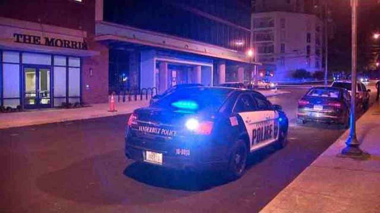 Security Guard Hears Gun Shots, Runs To Help