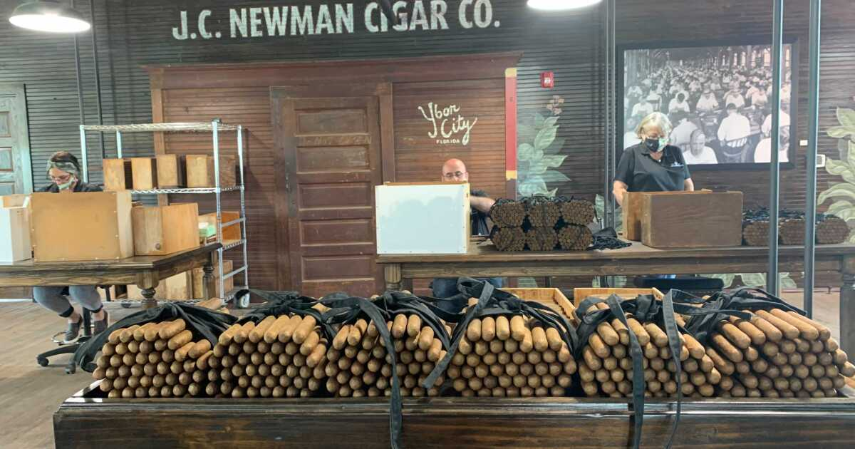 J.C. Newman's El Reloj cigar factory celebrates 111th anniversary