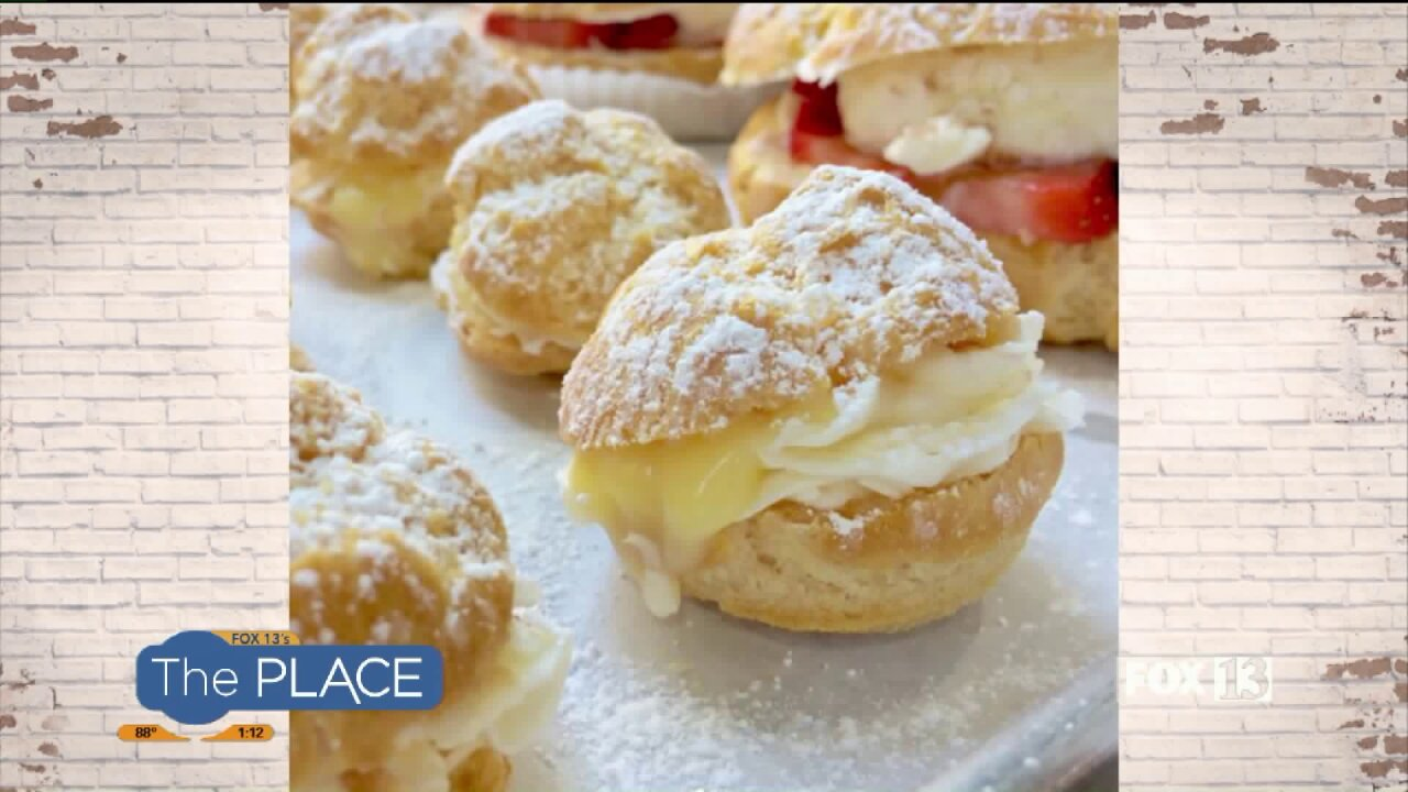 Cream Puffs 3 Different Ways