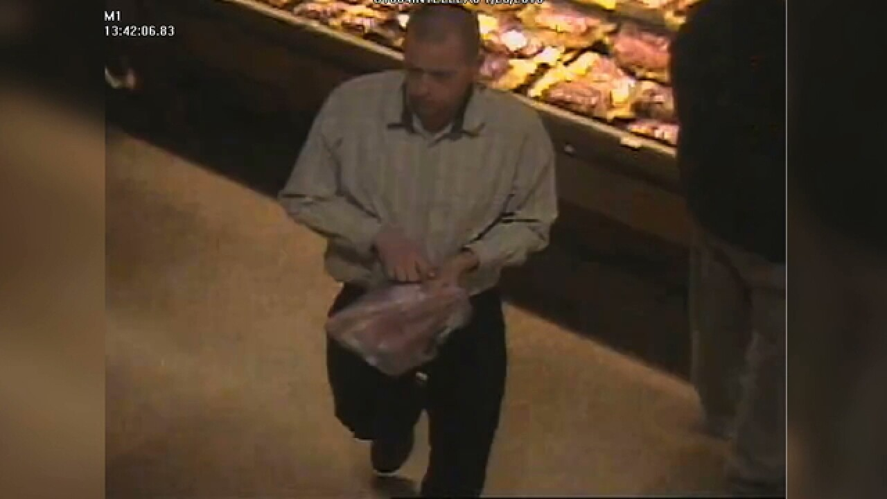 Police look into grocery theft at Wegmans