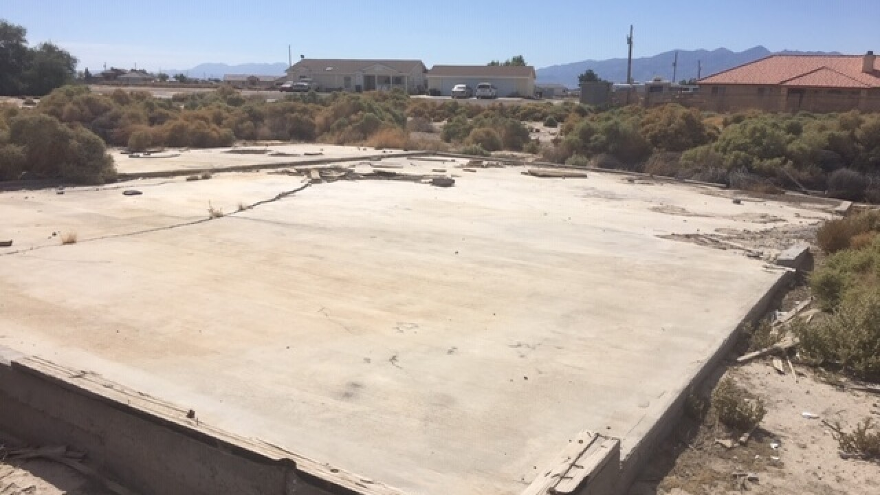 "Puff"" dirt blamed for sinking homes in Pahrump"