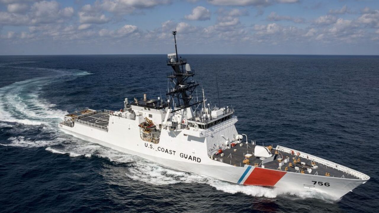 Over $930 million invested in Huntington Ingalls to build two Coast Guard cutters
