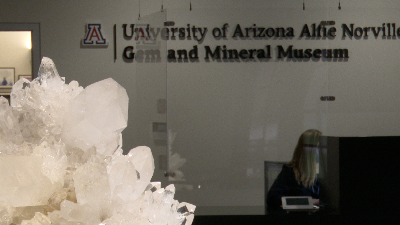 UA Alfie Norville Gem and Mineral Museum