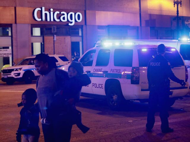 Photos: Gunman opens fire at Chicago's Mercy Hospital