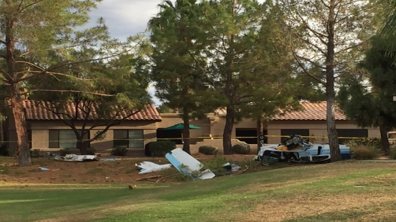 Small plane crashes in Surprise neighborhood
