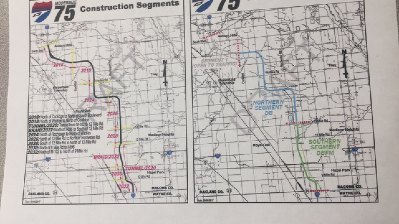 How Mdot Plans To Cut 10 Years On The I 75 Modernization Project