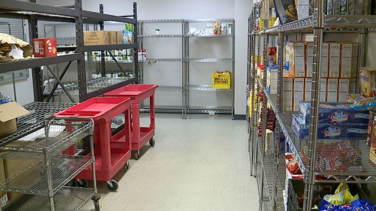 Salvation Army pantry