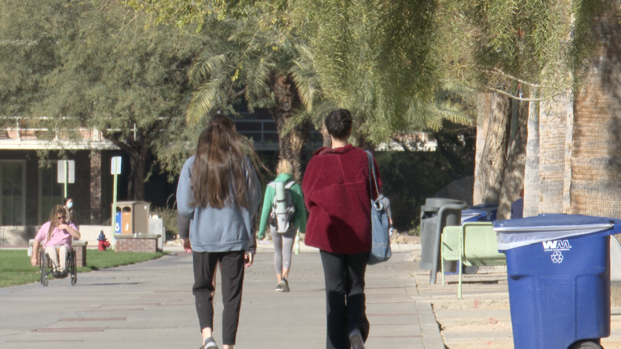 University of Arizona Students