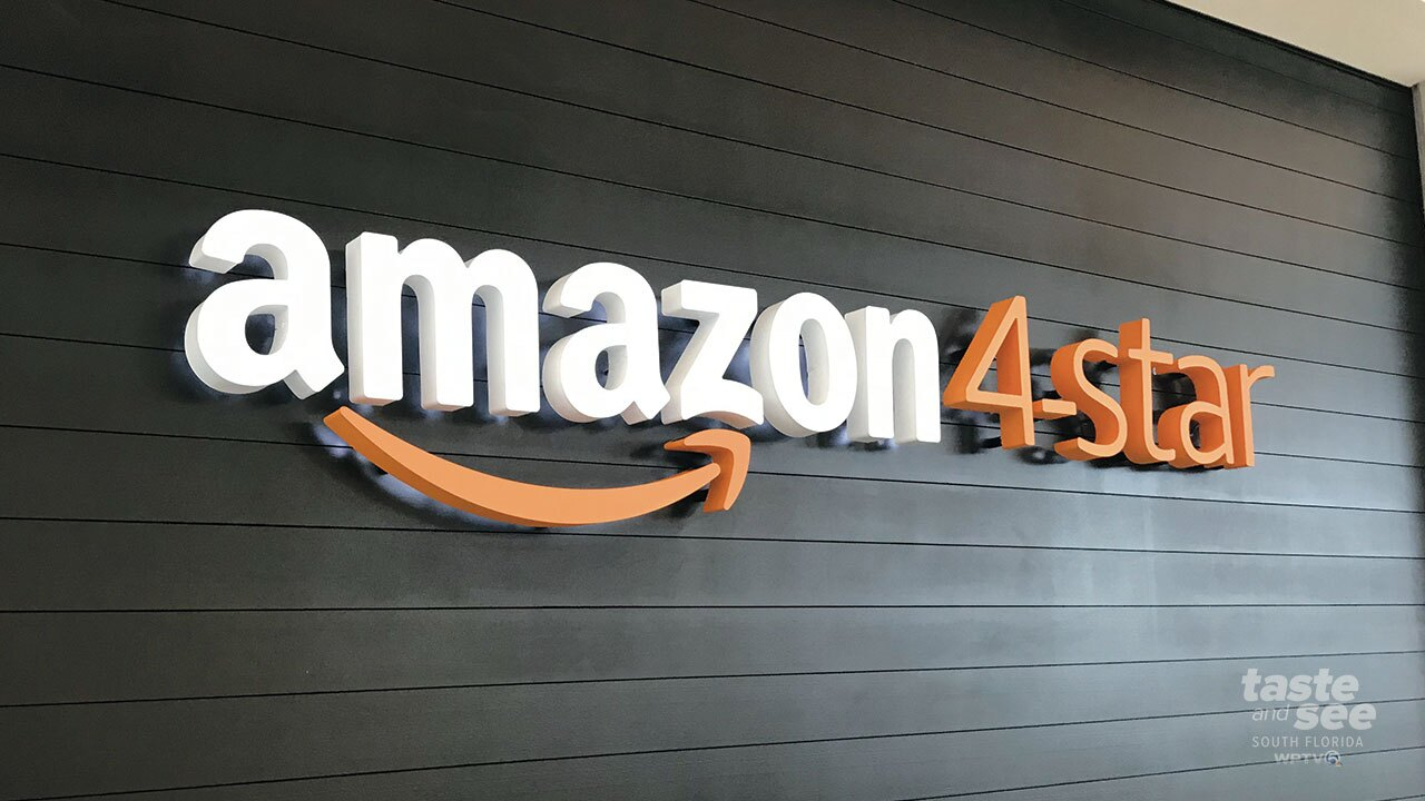 Wednesday, Amazon 4-star opened at The Gardens Mall in Palm Beach Gardens, FL. This is the first Amazon 4-star in Florida.