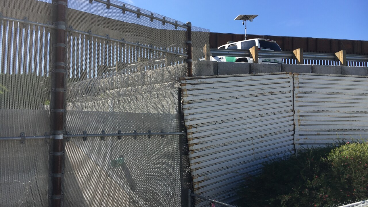 Border Fence San Ysidro