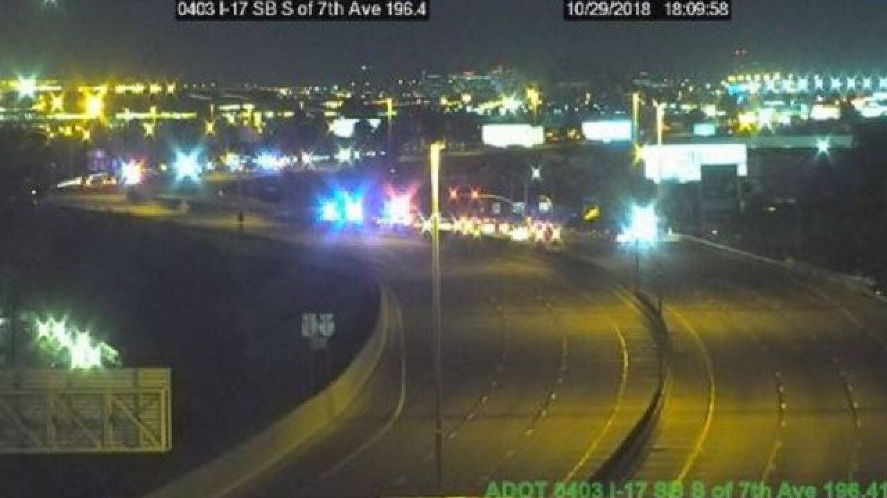 DPS: Pursuit ends in shooting on I-17