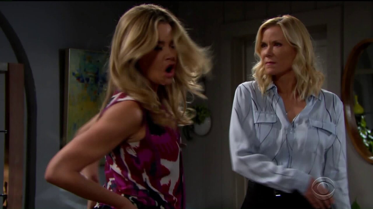 SOAP DISH: Phyllis grills Michael; Brooke slapsShauna