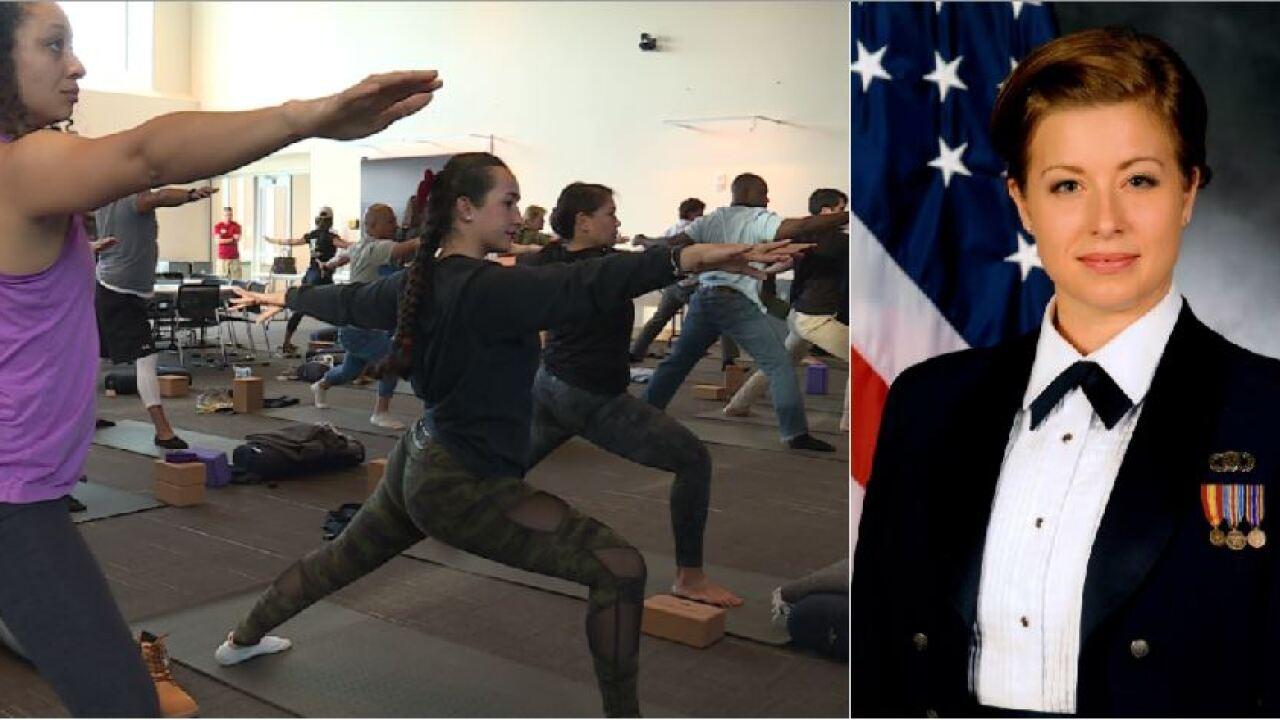 Yoga helps VCU veterans battling hidden enemy: 'It's very traumatic… veryhard'