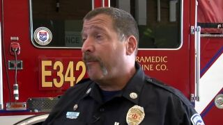Northwest Fire Captain Adam Goldberg has been answering calls for help over the last three decades.