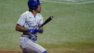 Royals Rays Baseball Adalberto Mondesi