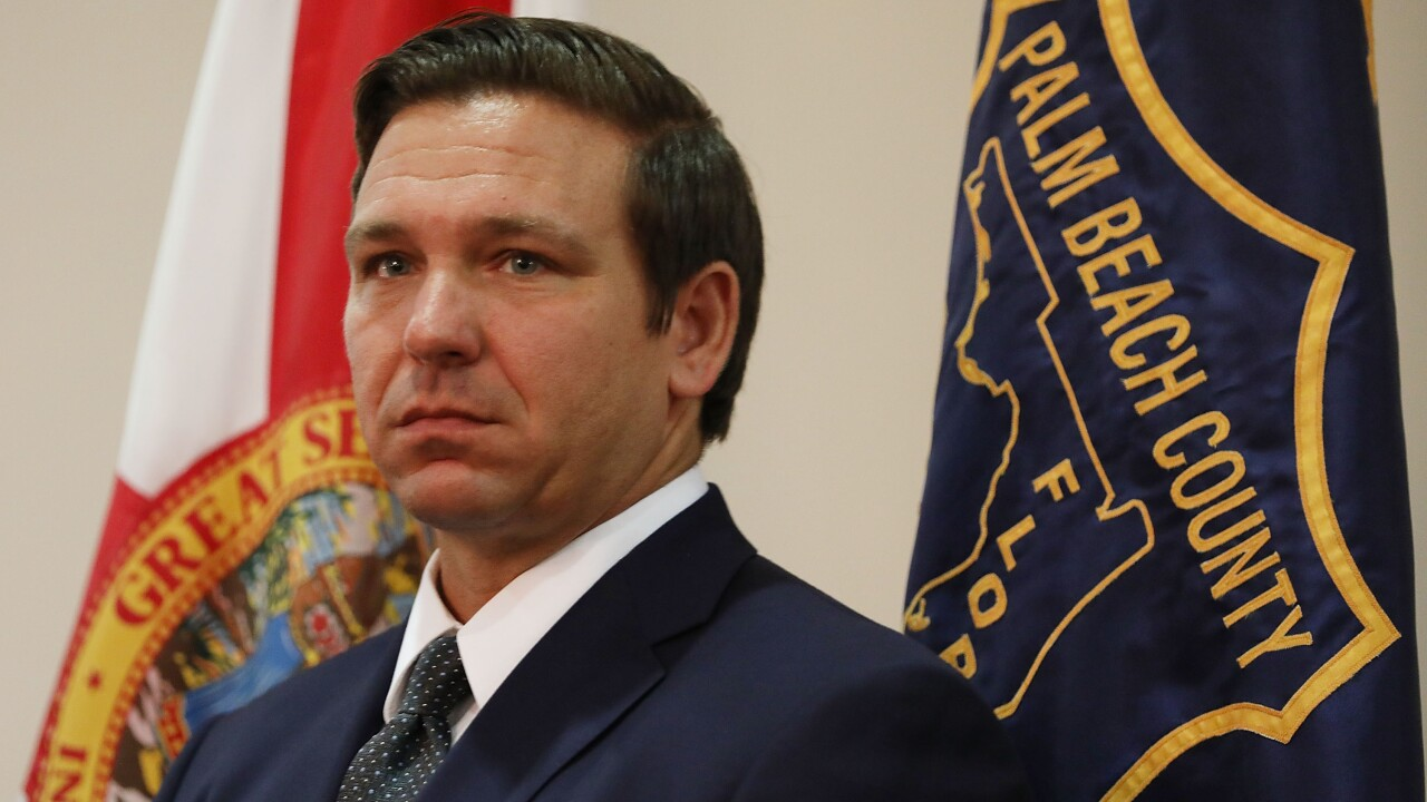 Florida governor to require high school seniors to take exam similar to citizenship test