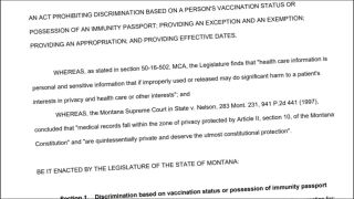 The Montana law that injected confusion and conflict into public health