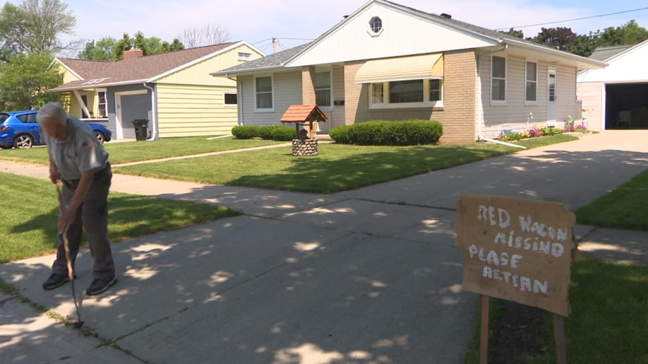 Special wagon gone missing from Appleton home
