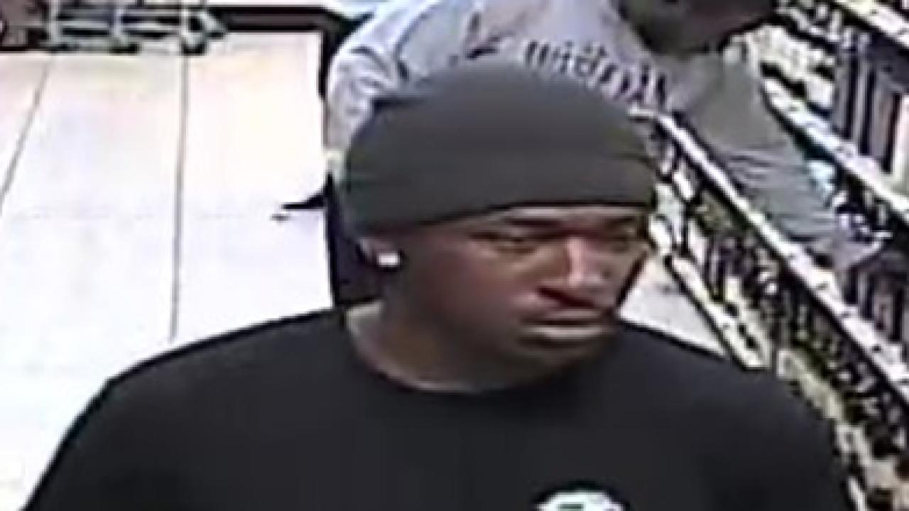 Suspect in ABC theft