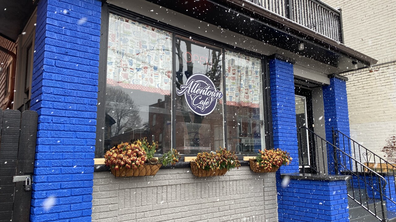 Allentown Cafe is now open for takeout and delivery