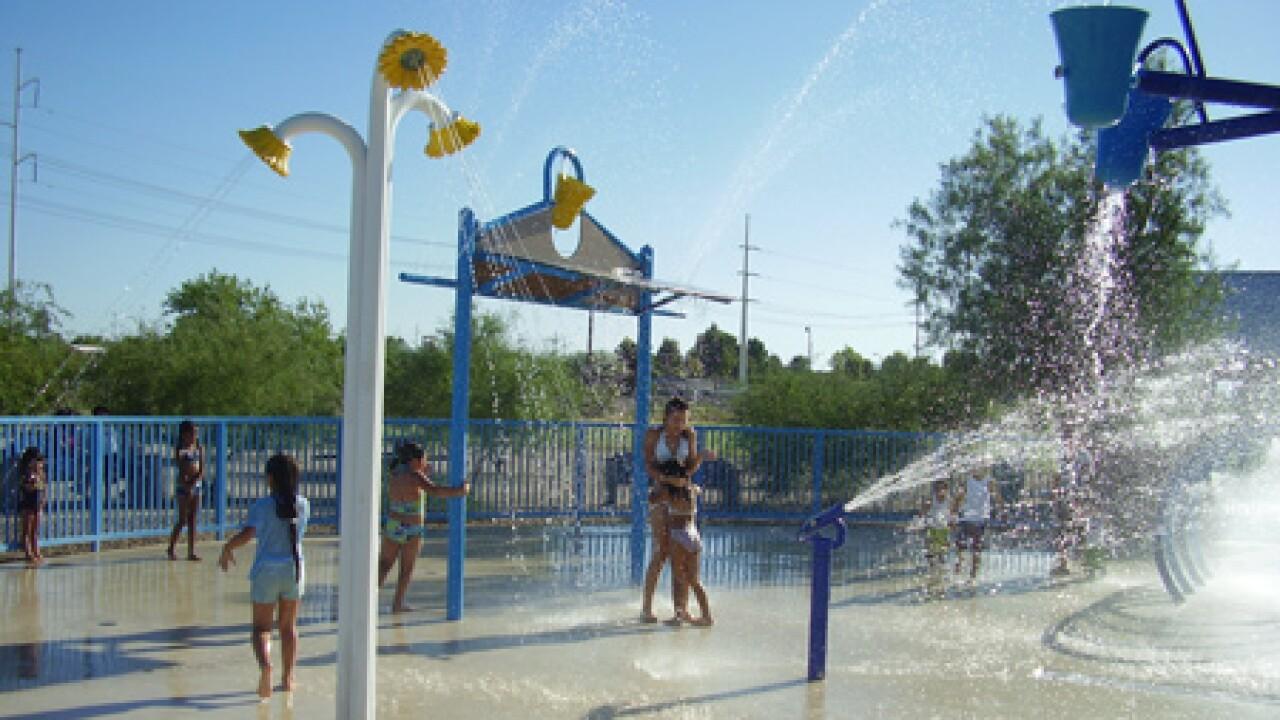 Brandi Fenton Park splash pad