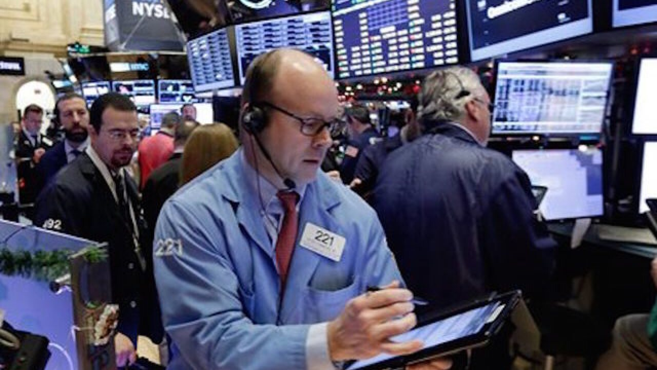 Stocks fall due to worries about China, Mideast
