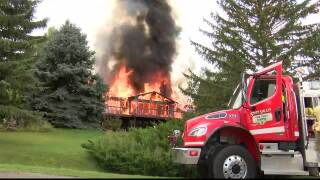 Woman, dog escape Kalispell house fire