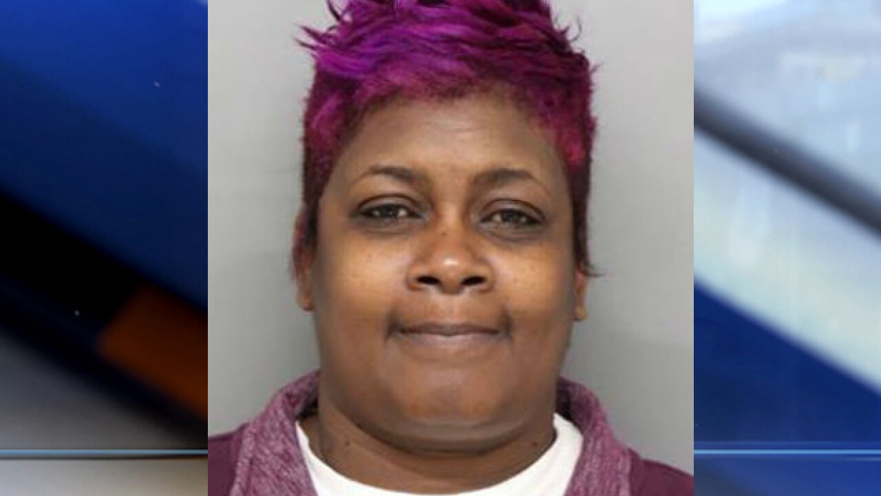 Police: Woman stabbed victim in face with grill fork