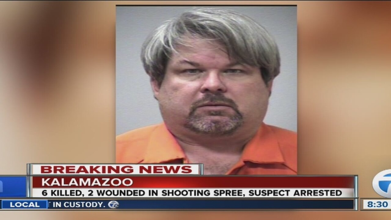 Suspect in Kalamazoo rampage was Uber driver