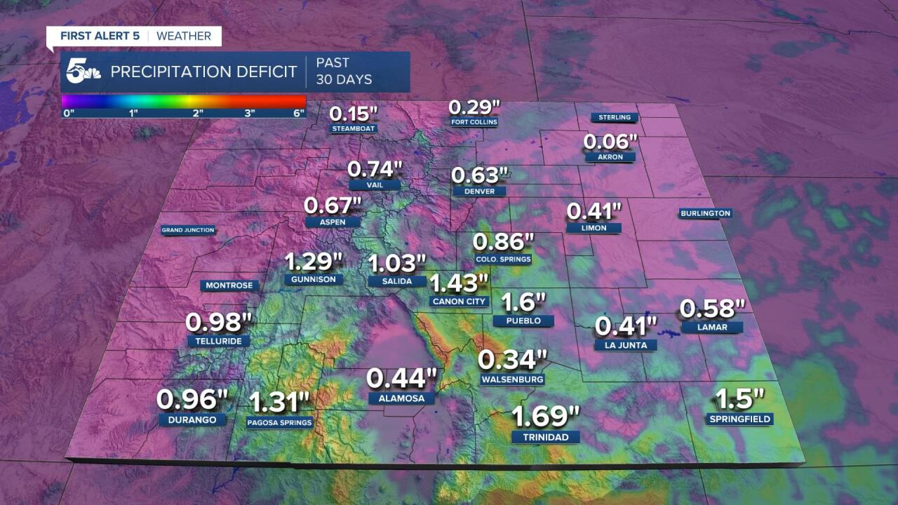 Precipitation Deficit