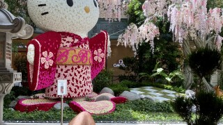 Bellagio Hotel & Casino Hello Kitty