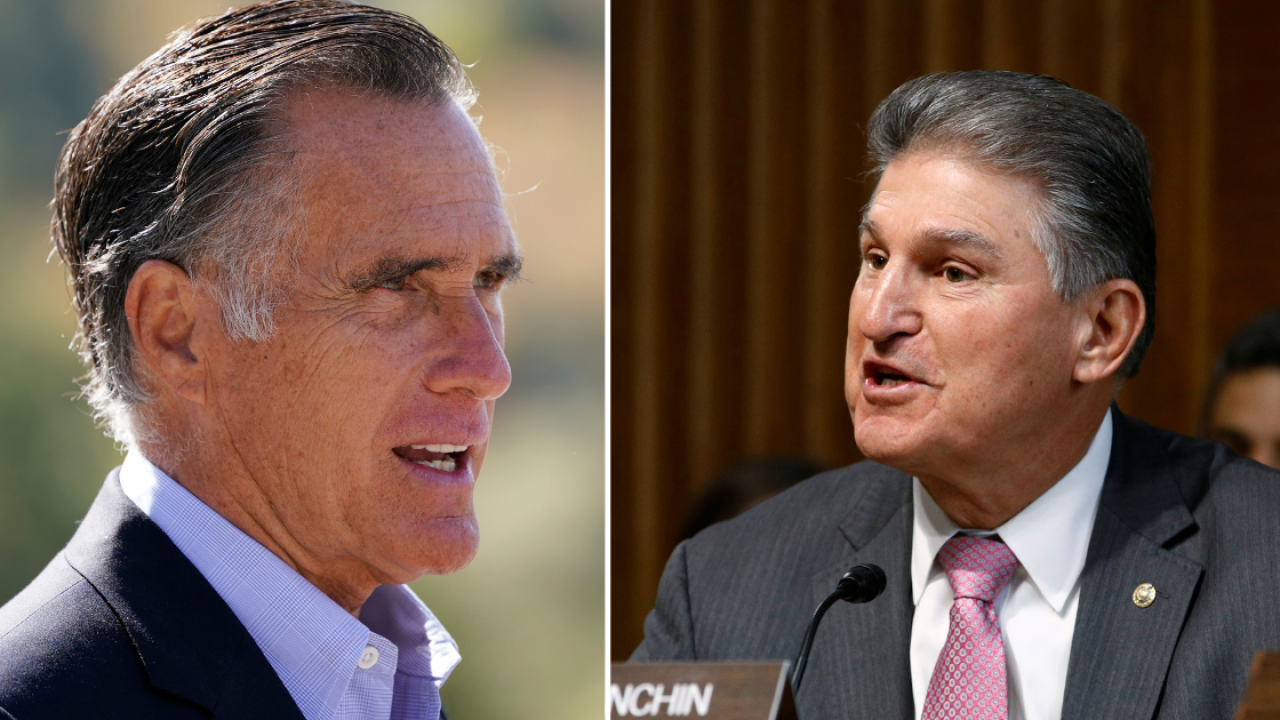 ROMNEY AND MANCHIN FORUM TO KICK OFF INSTITUTE OF POLITICS SPEAKER SERIES AT FLORIDA STATE UNIVERSITY