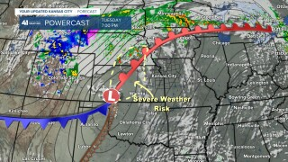 Severe Weather Risk Tuesday Night