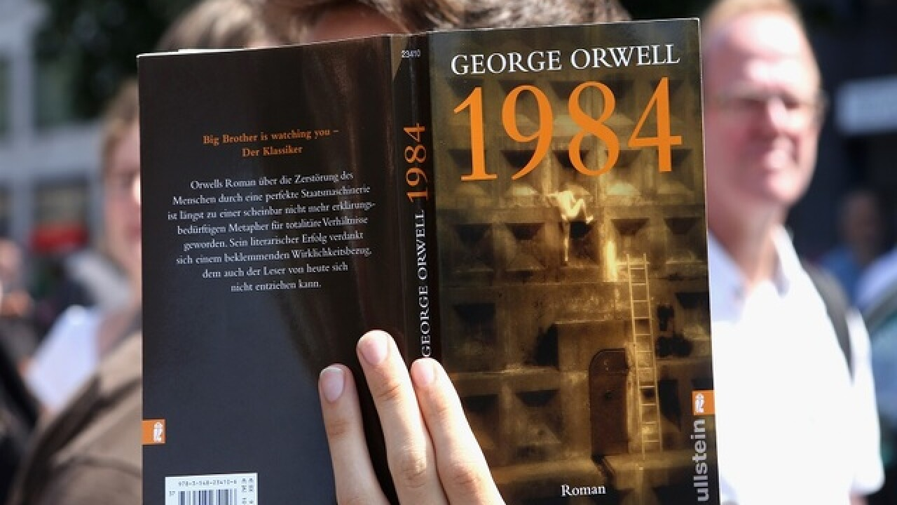 George Orwell's '1984' becomes 2017 best seller