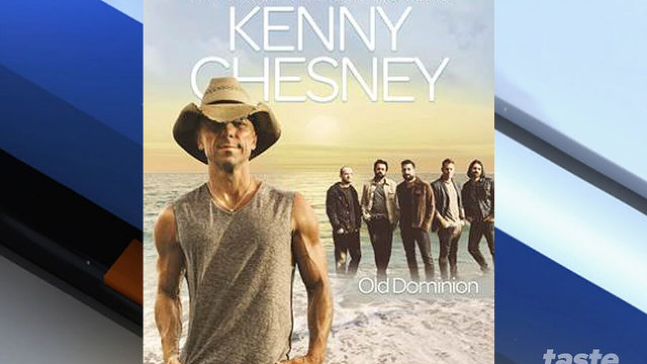 CONCERT ALERT: Kenny Chesney coming to town