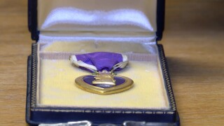 Trying to find owner of a Purple Heart medal that was saved from the trash