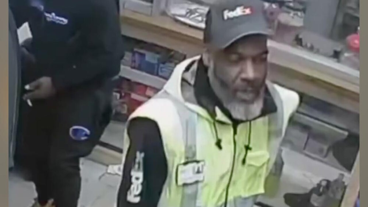 BPD needs help identifying this man seen on video wearing a FedEx uniform in connection to a January 13 shooting