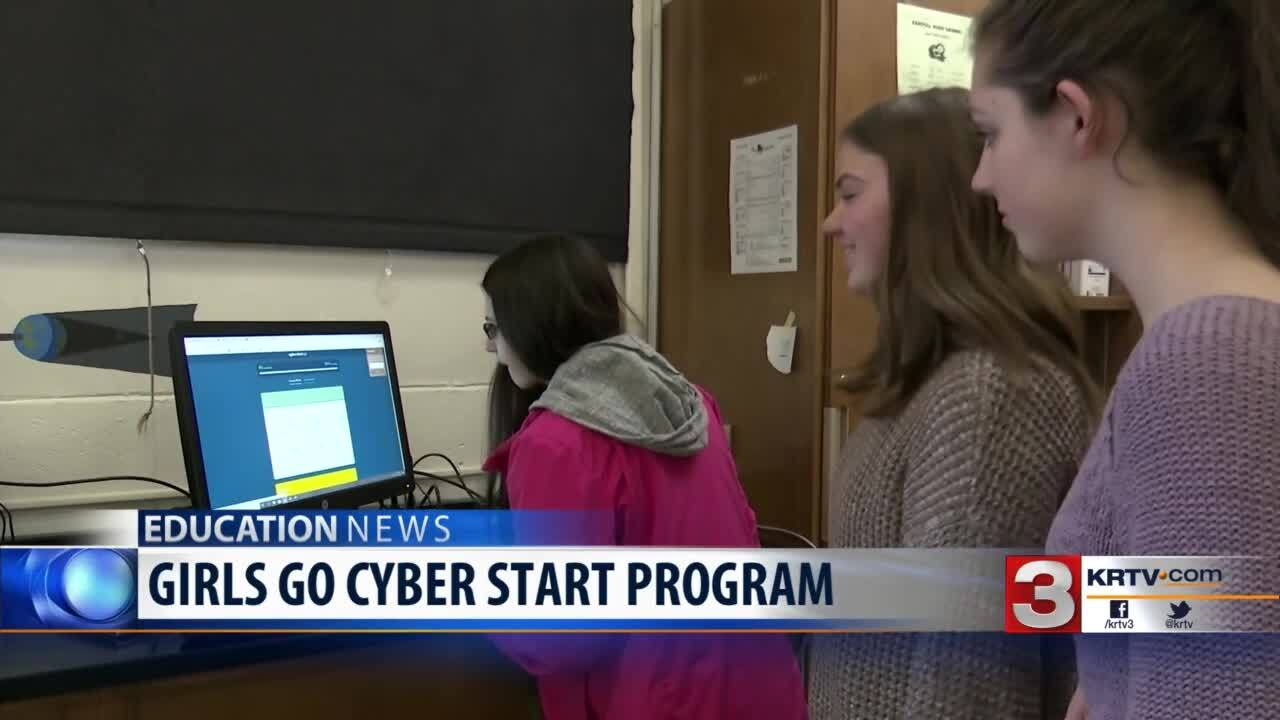 'Girls Go CyberStart' program begins 2nd year in Montana