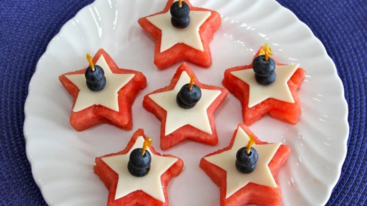 Recipe: Watermelon Appetizer & PatrioticParfait