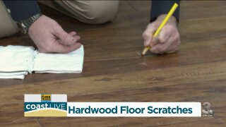 Tips for fixing scratches on hardwood floors
