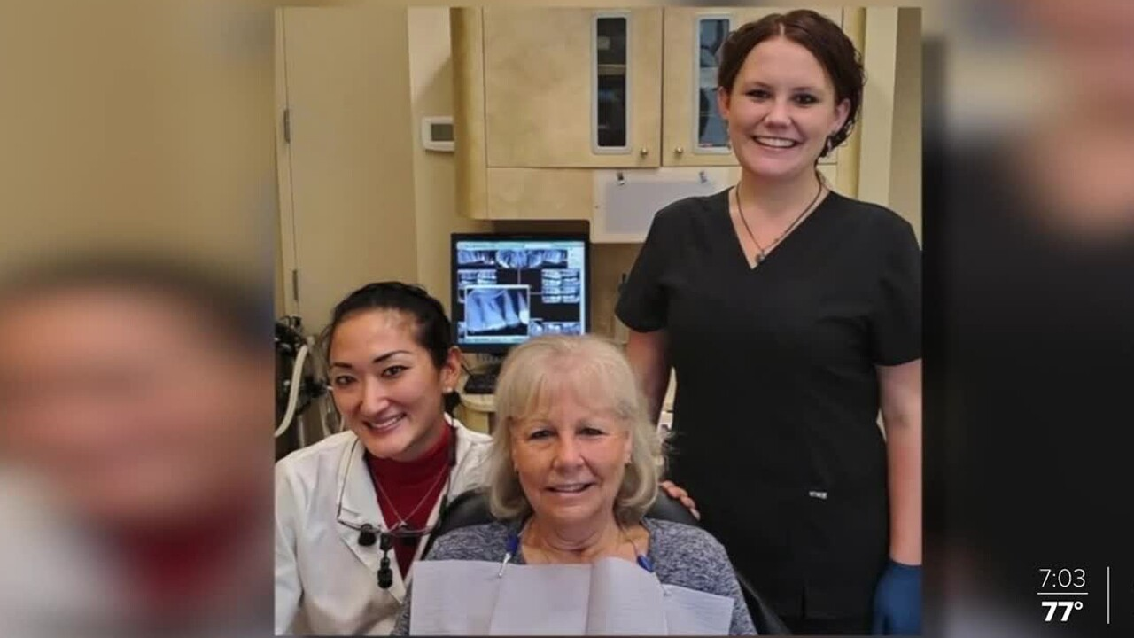 Dr. Colleen Lam (far left)