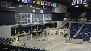 With Xavier's basketball season over, Cintas Center renovations are in full swing