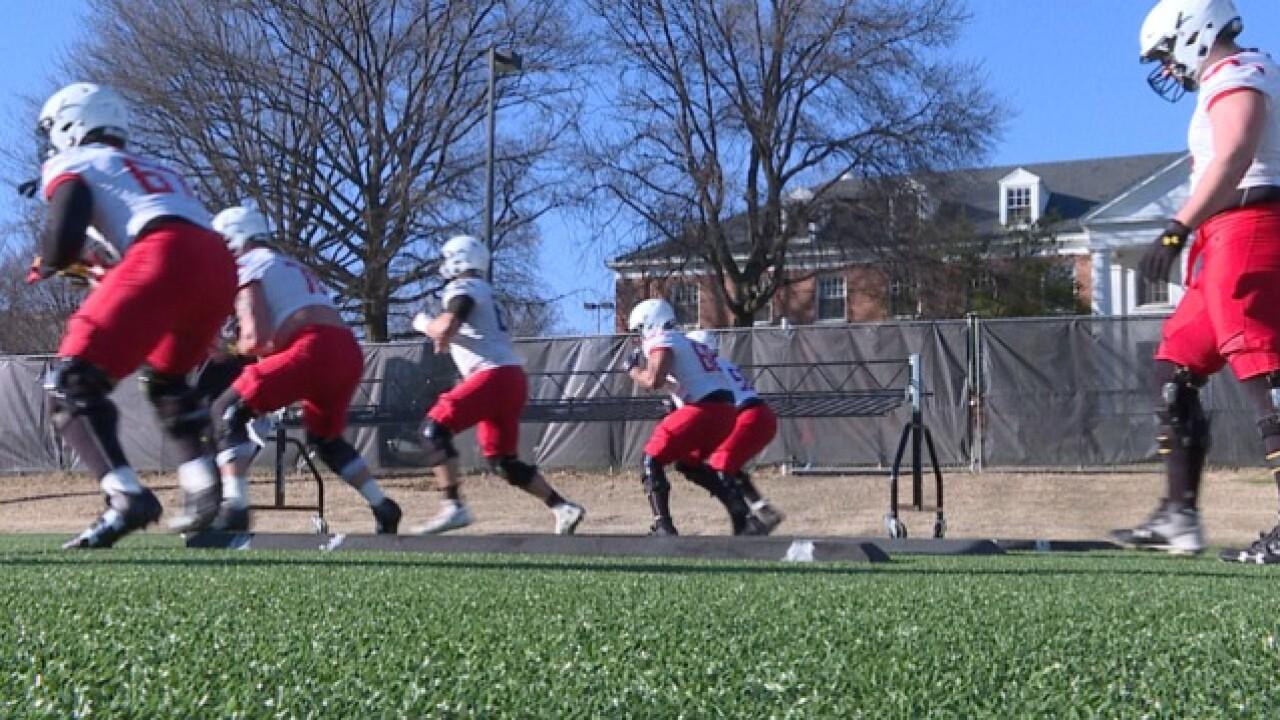Terps football begins spring practice