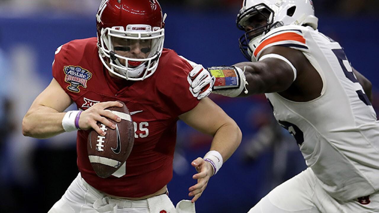 PHOTOS: OU takes on Auburn in Sugar Bowl