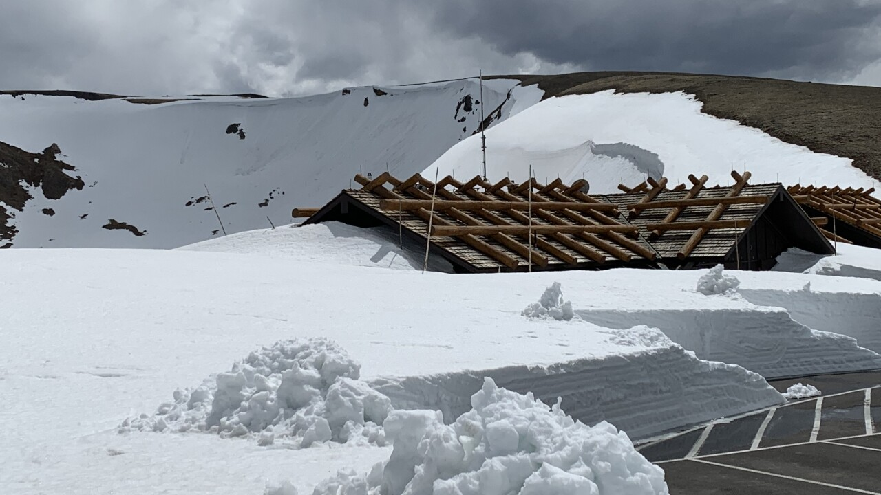 Trail Ridge Road in Rocky Mountain National Park expected to open Thursday