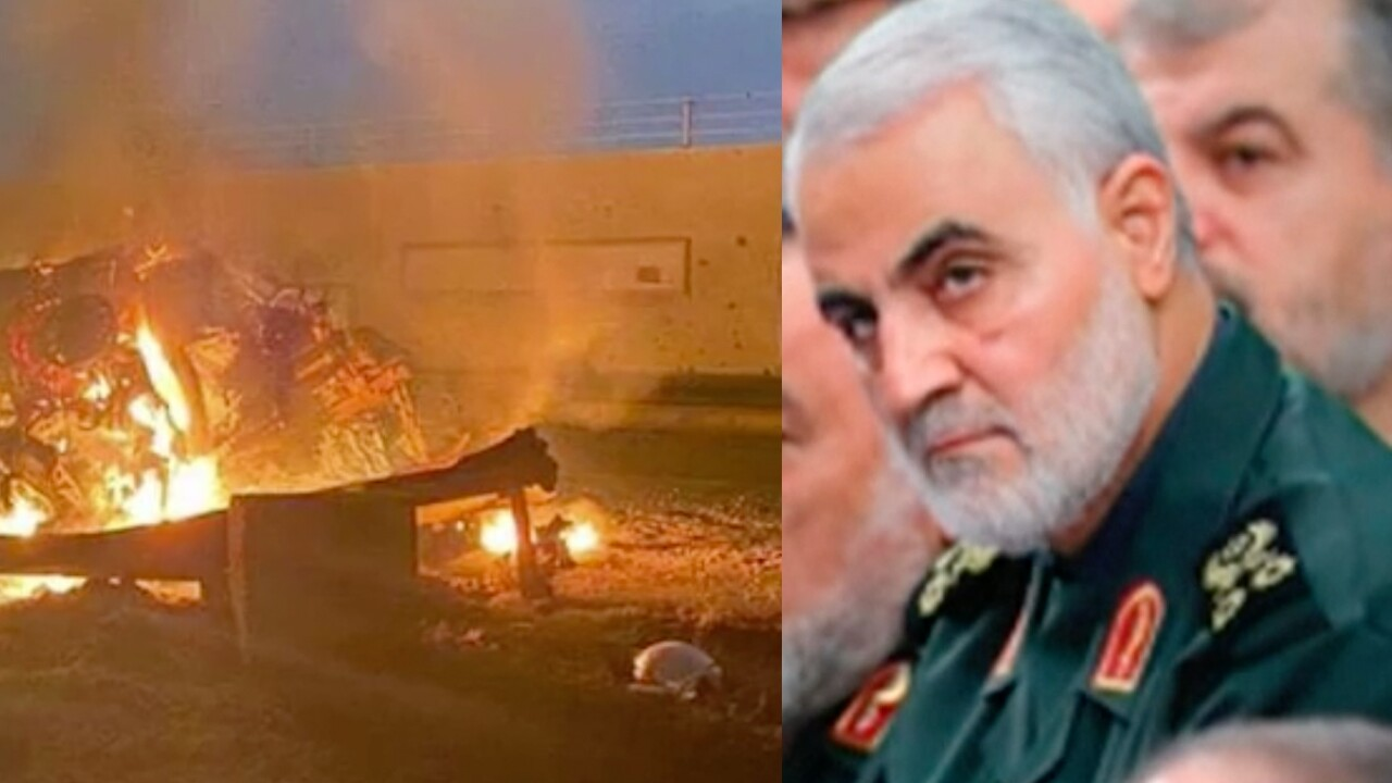 General Qassim Soleimani, the head of Iran's elite Quds Force, was killed in a U.S. airstrike at Baghdad International Airport on Jan. 3, 2020.